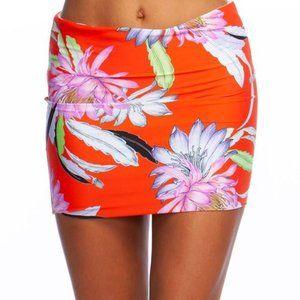 Trina Turk Size 12 Floral Bikini Skirt NWT